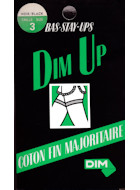 Dim Stay-Up Dim Up Cotton