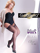 Gabriella stockings Cher 15 Plus Size
