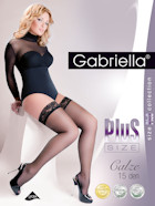 Gabriella Stay-Up Calze 15 Plus Size