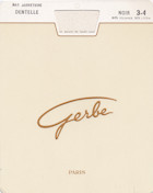Gerbe Stay-Up Dentelle Back Seam
