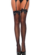 Leg Avenue stockings satin bow