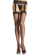Leg Avenue with Criss Cross lace garterbelt