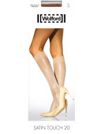 Wolford Media Calcetín Satin Touch 20