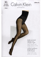 Calvin Klein high-waisted french cut shaper tights 30