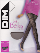 Dim openwork lace flowers tights