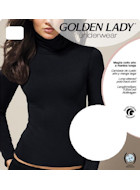 Golden Lady polo-neck shirt