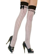 Leg Avenue Stay-Up with Stripes