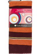 Punto Blanco cotton tights large stripes